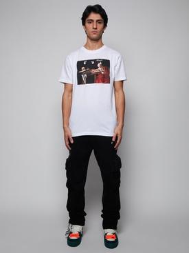 Carravaggio Graphic T-Shirt White Red