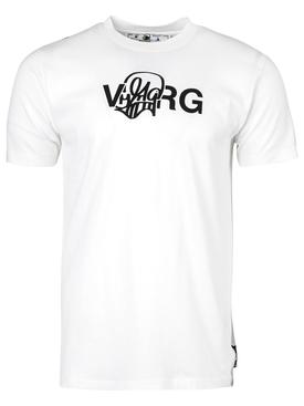 X Katsu Logo T-shirt White and Black
