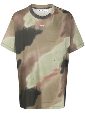 Camouflage Stencil Logo t-shirt