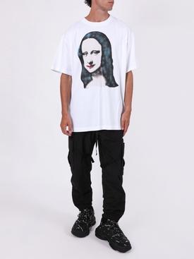 Monalisa print t-shirt