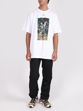 Pascal print t-shirt WHITE