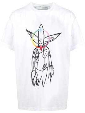 White Futura Alien T-Shirt