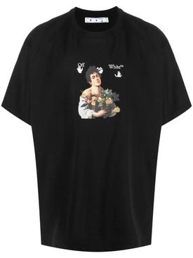 Caravaggio Boy t-shirt black