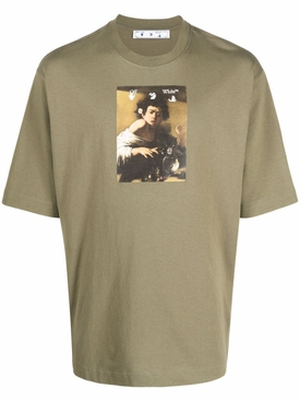 Caravaggio Boy Short Sleeve Skate Tee Green
