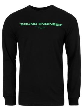X Pioneer Long-sleeve Tee Black and Green