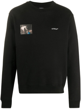 Caravaggio angel sweatshirt BLACK
