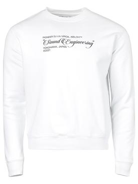 X Pioneer Sound Engineering Sweatshirt White