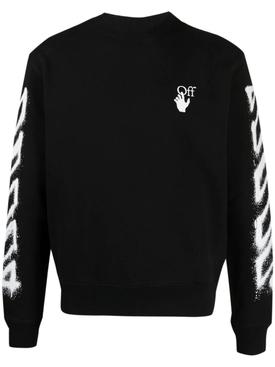 Spray Marker Slim Crewneck Sweater