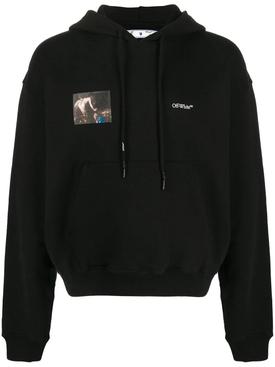 Caravaggio angel hoodie black