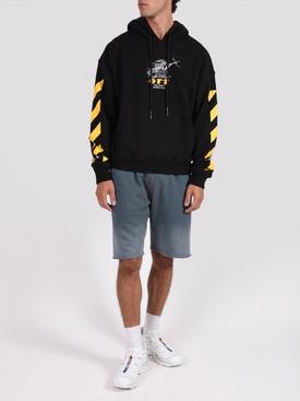 Black and yellow free spirit wizard hoodie jumper
