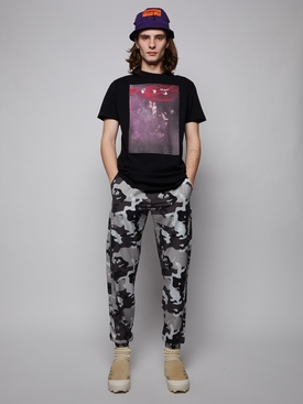 OW Logo Casual Pant, Camouflage Grey