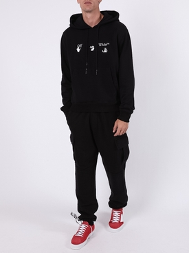 Logo cargo sweat pants