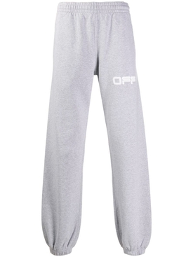 Airport Tape Logo Sweatpants GREY