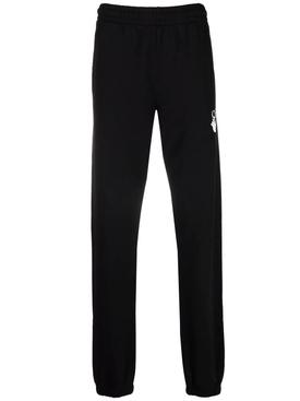 Caravaggio Arrow Slim Sweatpant Black And White