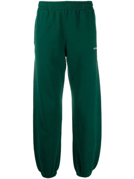 Dark green sweat pants