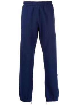 Rubber Arrow Zip Sweatpant Blue