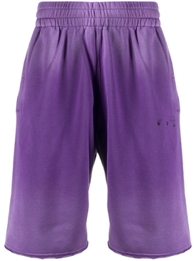 Gradient sweat shorts PURPLE