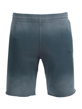 Gradient sweat shorts LIGHT BLUE