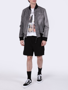 Airport Tape Bomber Jacket