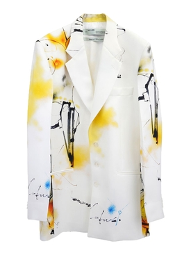 Futura Abstract Print Blazer