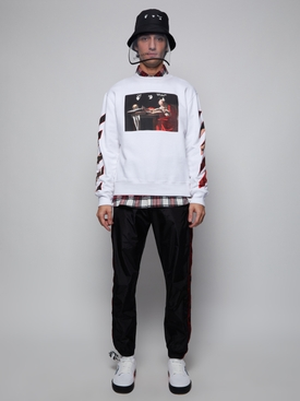 All-Over Check Flannel Shirt RED