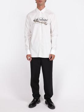White pascal tool shirt