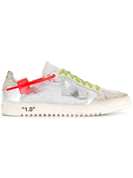 2.0 SECURITY TAG SNEAKERS FOIL