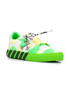 Tie-Dye low Vulcanized sneakers GREEN/YELLOW