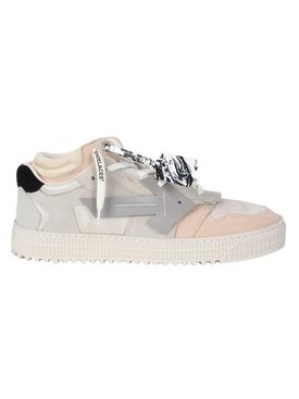 Beige Off-Court low sneakers
