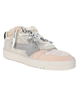 Beige Off-Court low sneakers