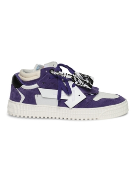 3.0 off court low-top sneakers PURPLE AND WHITE