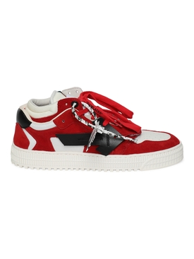 3.0 off court low-top sneakers RED AND BLACK