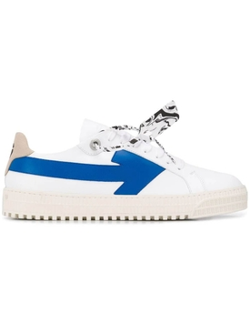Arrow low-top sneaker WHITE/BLUE