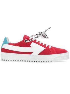 Arrow low-top sneaker RED WHITE