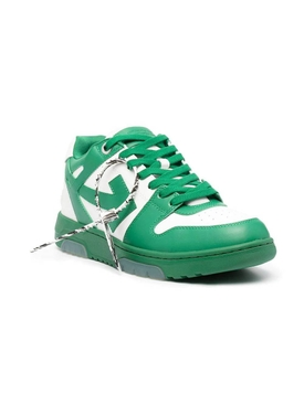 Out of office low-top sneaker DIRTY WHITE AND GREEN