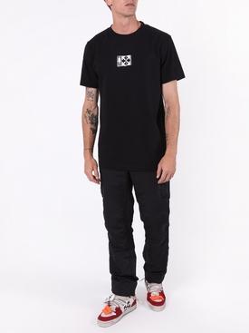 Equipment t-shirt BLACK/WHITE