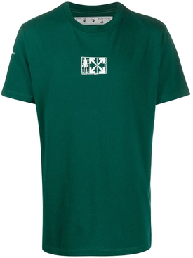 Equipment t-shirt GREEN/WHITE