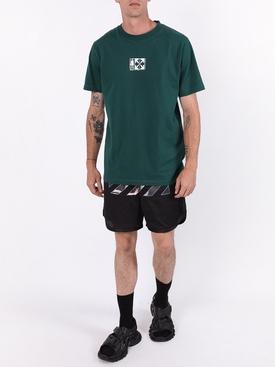 Equipment t-shirt GREEN/WHITE