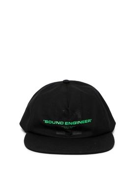 X Pioneer Sound Engineer Cap Black
