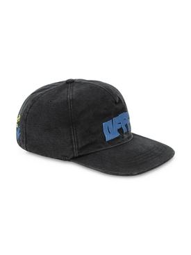Hands arrows baseball cap, black