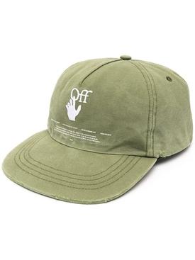 Hand off baseball cap Hedge Green