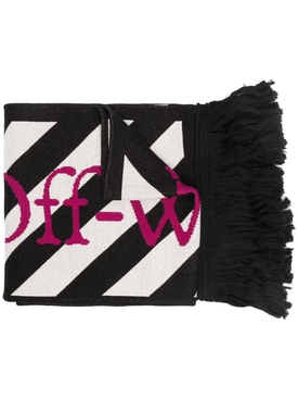 ARROWS SCARF BLACK BLACK