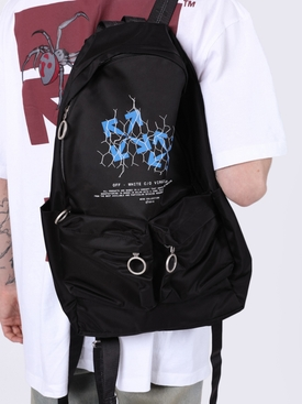 Fence arrow logo backpack