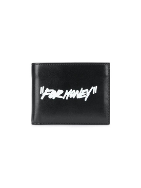 """For Money"" bifold wallet"
