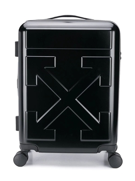 Arrow Trolley Travel Bag BLACK