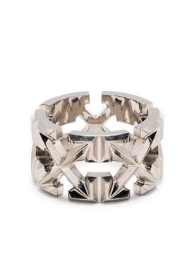 Multi arrows ring, Silver