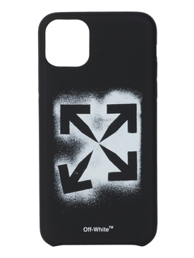 BLACK AND WHITE STENCIL IPHONE 11 PRO MAX CASE
