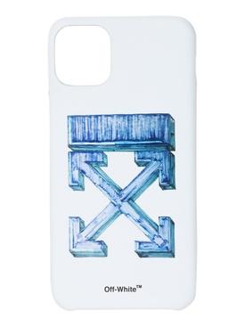MARKER IPHONE 11 PRO MAX CASE BLUE/WHITE