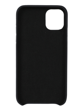 BLACK AND WHITE STENCIL IPHONE 11 CASE