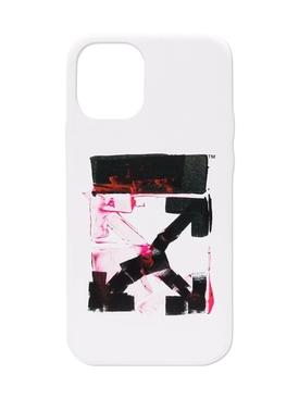 Acrylic Arrow Iphone 12 Mini Case WHITE